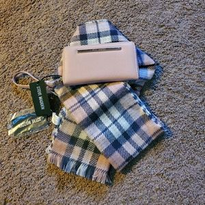 Scarf with matching wallet